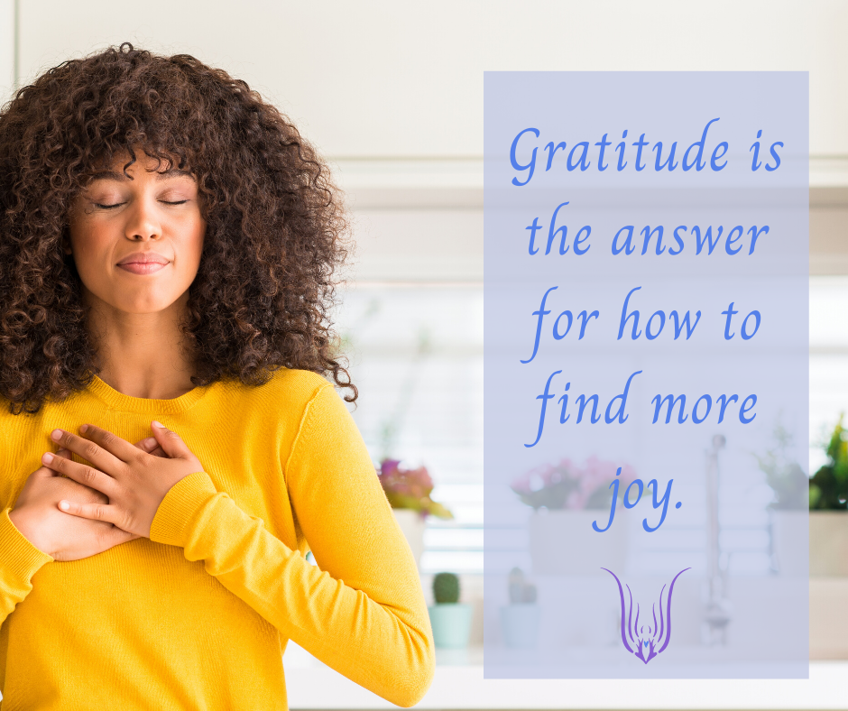 Gratitude is the answer